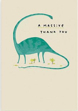 A massive thank you