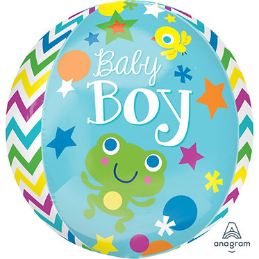 Baby Boy Orbz Balloon