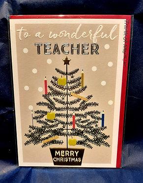Teacher Christmas Card