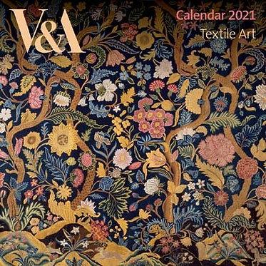 William Morris Small Textile Art Wall Calendar