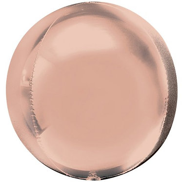 Rose Gold Helium Orbz Balloon