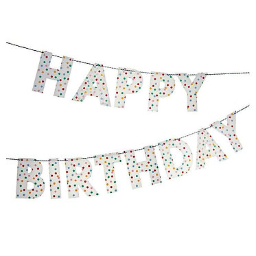 Birthday Bunting Toot Sweet