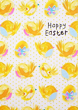 Happy Easter Chicks Card by Paper Salad