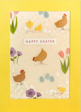 Easter Chickens and Chicks by James Ellis