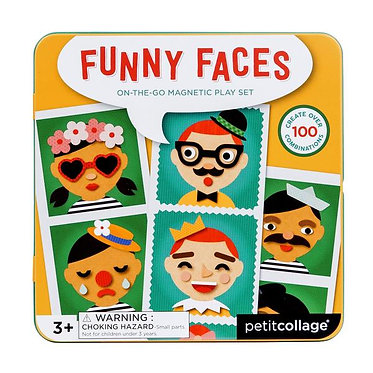 Funny Faces On-the-go Magnetic Play Set