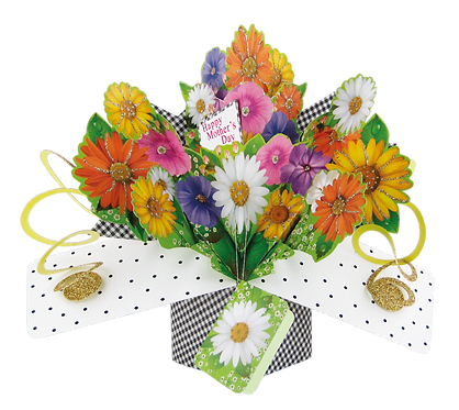 Mother's Day Flowers 3d Pop Up