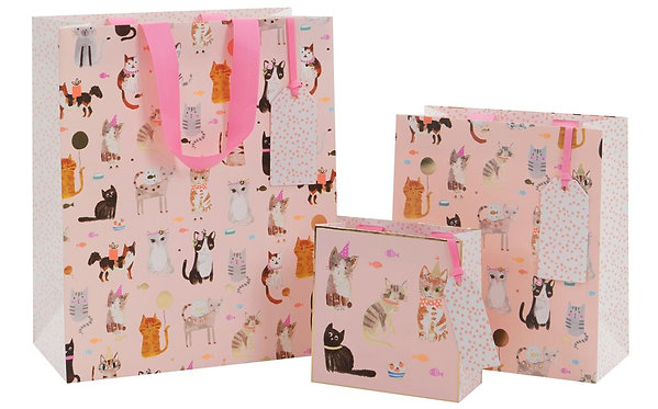 Cats Whiskers Gift Bags