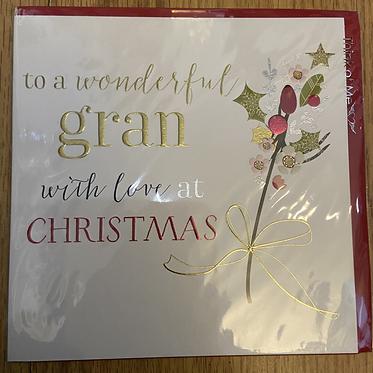 To a wonderful gran