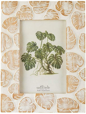 Cheese Plant Wooden Photo Frame