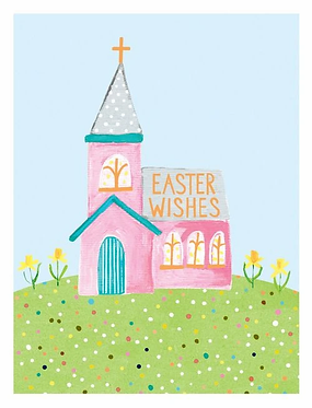Easter Wishes Card by Paper Salad