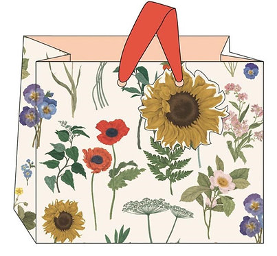 Sunflower Gift Bags by The Art File