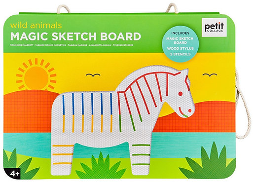 Magic Sketch Board - Wild Animals