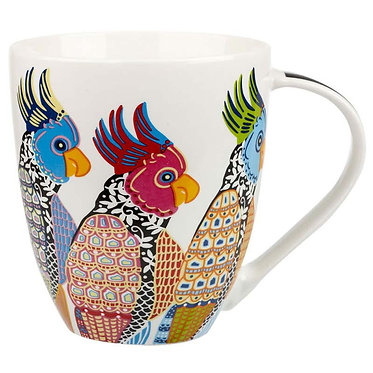 Churchill China Paradise Bird Mugs