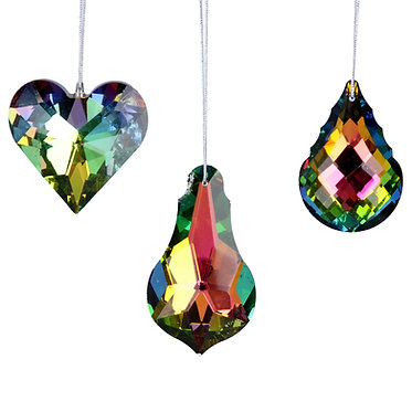 Lustre Glass Hanging Decoration