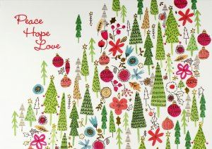 Peter Pauper Large Christmas Cards Christmas Trees
