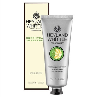 Green Tea and Grapefruit Hand Cream by Heyland and Whittle