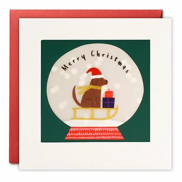 Paper Shakies Christmas Cards by James Ellis