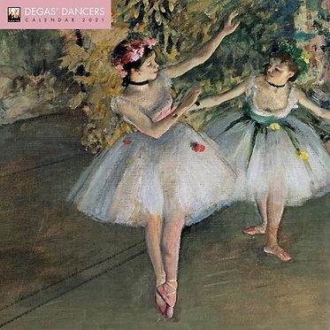 Degas Dancers Wall Calendar 2021