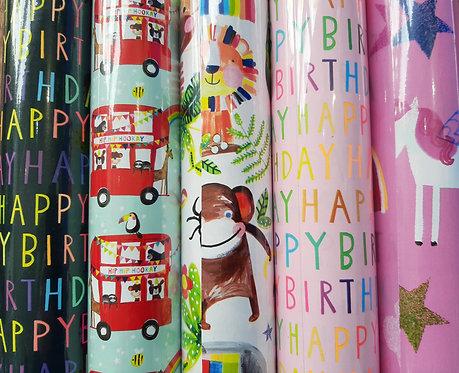 Children's Roll Wrap
