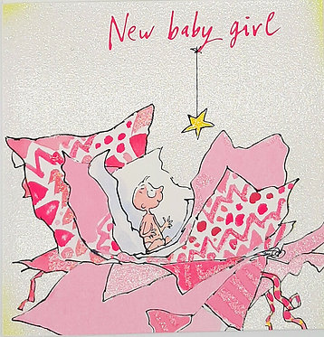 More Baby Girl Cards