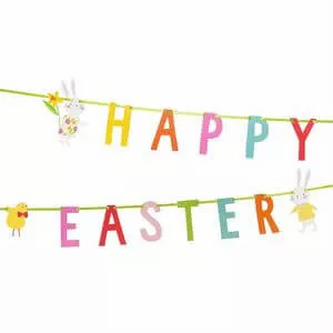 Hop To It Easter Bunting