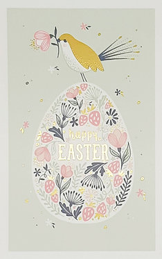 Happy Easter Egg and Bird Cards