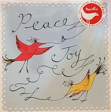 Paper Bird Charity Christmas Pack