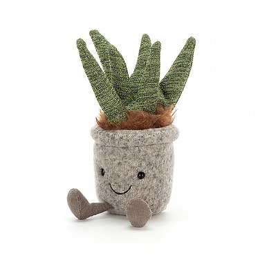 Silly Succulent Aloe by Jellycat
