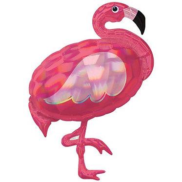 Supershape Pink Flamingo Balloon