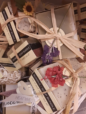 Hanmade Soap Bundle by Heyland and Whittle