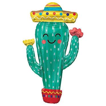 Supershape Happy Cactus Balloon