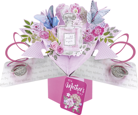 Mother's Day Perfume Bottle 3d Pop Up