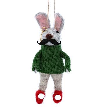 Gentleman Rabbit Hanging Dec