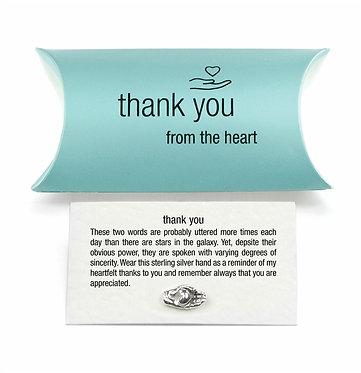 Thank You Pin Badge/Token