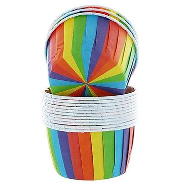 Rainbow Baking Cups