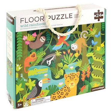 Floor Puzzle Wild Rainforest