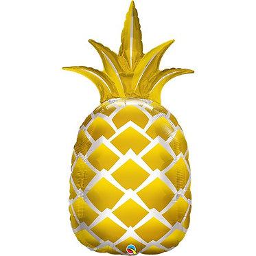 Supershape Helium Balloon Pineapple
