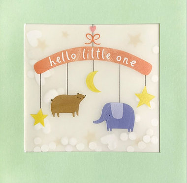 New Baby Card by James Ellis