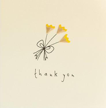Thank You Pencil Shavings