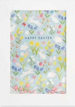Easter Bunnies Card by James Ellis