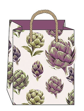 Artichoke Gift Bag by The Art File