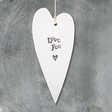 Small Ceramic Hanging Plaque