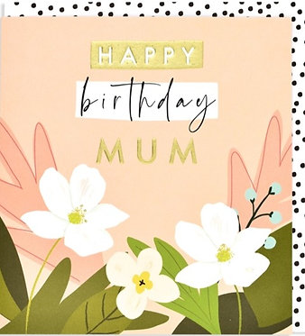 Mum Birthday Card by Think of Me Designs