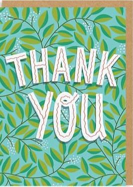 Thank You Card by Ohh Deer