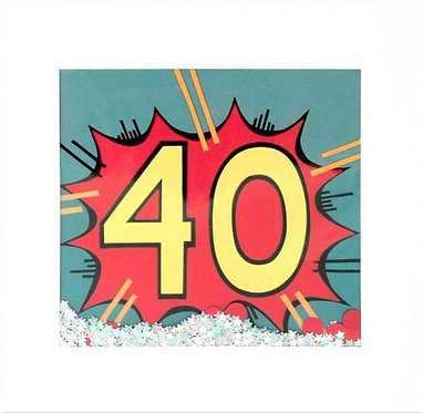 More 40th Birthday Cards