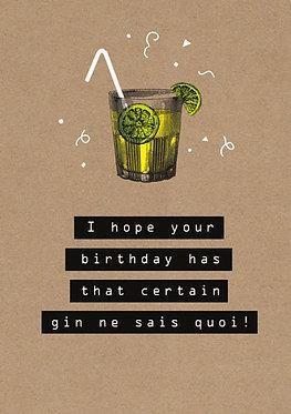 Gin Ne Sais Quoi