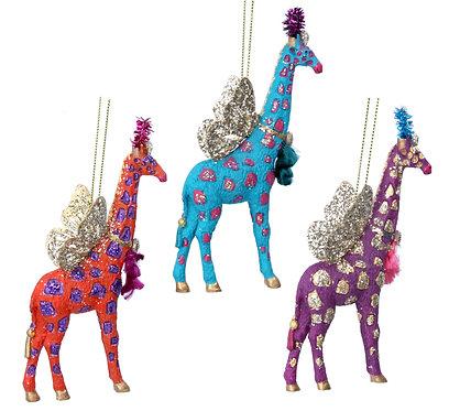 Fantasy Giraffe Hanging Decoration