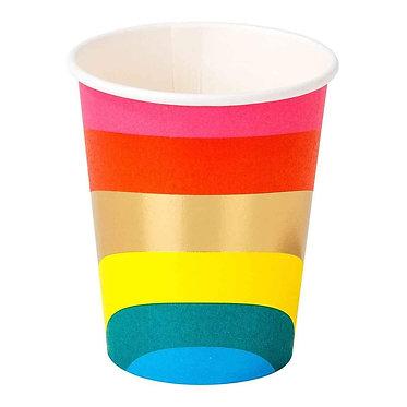 Birthday Brights Rainbow Cups