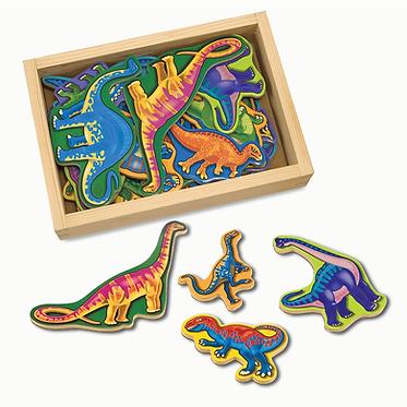 20 Dinosaur Magnets