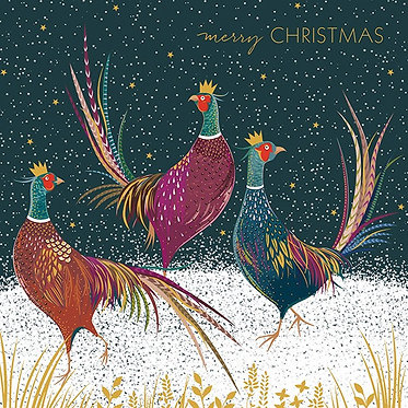8 Luxury Christmas Cards by Sara Miller